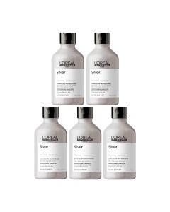10x L'Oréal Serie Expert Silver Shampoo 300ml