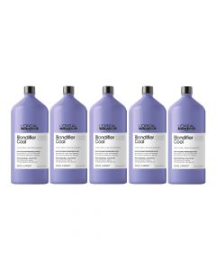 15x L'Oréal Serie Expert Blondifier Shampoo Cool 1500ml