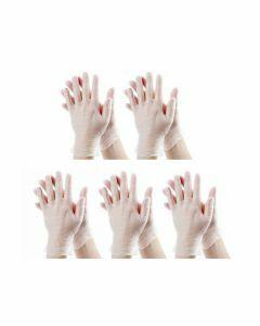 15x Stockhunter Vinyl-Handschoenen gepoederd Maat L 100st