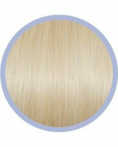 Euro So. Cap. Flat Ring-On Extensions Platinablond 1001 10x50-55cm