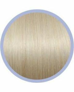 Euro So. Cap. Flat Ring-On Extensions Extra Zeer Licht Asblond 1004 10x50-55cm