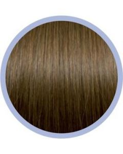 Euro So. Cap. Flat Ring-On Extensions Donkerblond 10 10x50-55cm