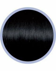 Euro So. Cap. Flat Ring-On Extensions Zwart 1B 10x50-55cm