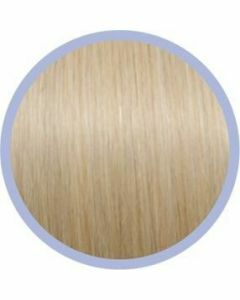 Seiseta Microring Extensions - 50cm - natural straight - #20