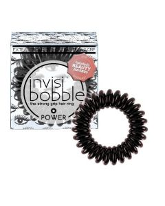 Invisibobble Beauty Collection POWER Luscious Lashes metallic zwart