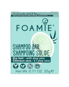 Foamie Shampoo Bar Travel Size Take Me Aloe Way 20gr