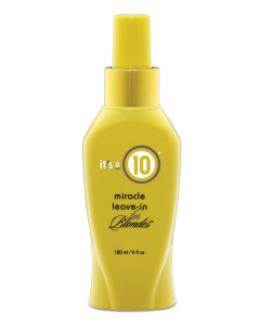 It's a 10 Miracle Leave-in for Blondes 120ml