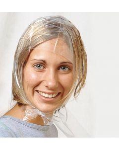 Einweg Strähnenhaube transparent glatt  50 Stk