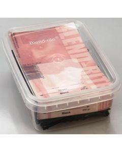 Haarspange schwarz kurz 50mm Box - 250 g