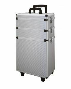 Werkzeugkoffer aluminium dreiteilig silber