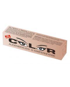Color Color Wimper- und Augenbrauenfarbe hellbraun