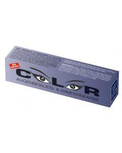 Color Color Wimper- und Augenbrauenfarbe blau/schwarz