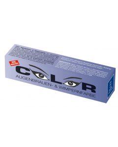 Color Color Wimper- und Augenbrauenfarbe blau