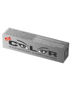 Color Color Wimper- und Augenbrauenfarbe tiefschwarz