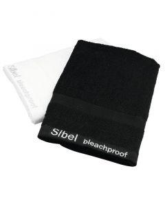 Sibel Handtuch Baumwolle bleichbeständig schwarz 48x75cm