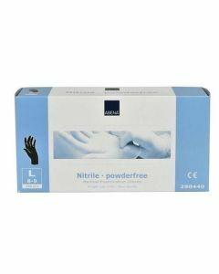 Abena Nitril-Handschuhe pulverfrei Größe L schwarz 200 Stk.