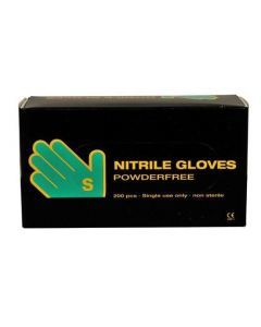 Abena Nitril-Handschoenen poedervrij maat S Blauw 10x200st.