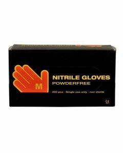 Abena Nitril-Handschoenen poedervrij maat M Blauw 10x200st.