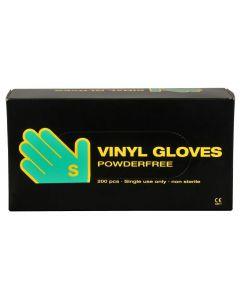 Abena Handschoenen poedervrij vinyl maat S clear 10x200st.