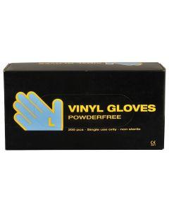 Abena Handschoenen poedervrij vinyl maat L clear 10x200st.