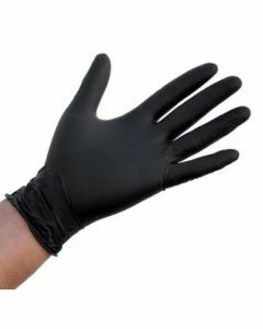 Abena Nitril-Handschoenen Poedervrij Maat XL Zwart 100st