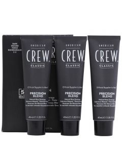 American Crew Precision Blend dark 3x40ml