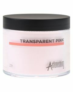 Astonishing Acrylic Powder Transparent Pink 100gr