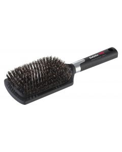 Babyliss PRO Paddel Brush Wildzwijnhaar zwart XL