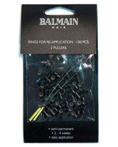 Balmain Rings black  100st