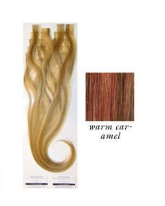 Balmain Easy Length Tape Extensions Human Hair Warm Caramel