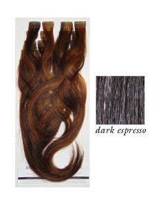 Balmain Easy Volume Tape Extensions Dark Espresso
