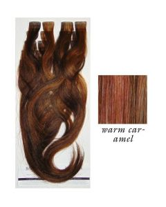Balmain Tape Haarverlängerung Easy Volume Warm Caramel 40cm