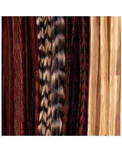 Featherlocks Federextensions (Haarverlängerung) Mocchachino 25st
