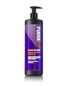 Fudge Clean Blonde Violet-Toning Shampoo  1000ml