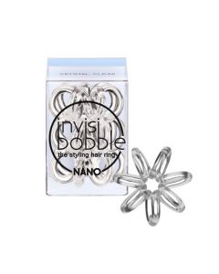 Invisibobble Nano Crystal Clear 3st