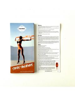 Fake Bake Spray Tan Advice Slips 50 stuks