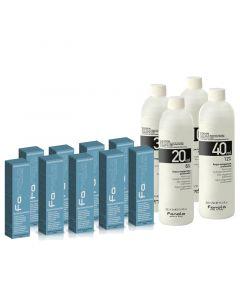 Fanola Cream Color Haarkleuring ZZP Startpakket