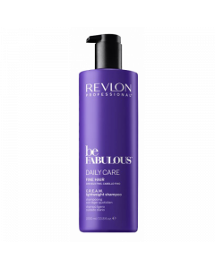 Revlon Be Fabulous Daily Care Fine Cream Shampoo 1000ml