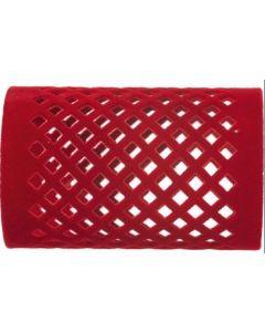 Efalock Fluwelen rollers lang rood 40mm rood