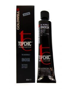 Goldwell Topchic The Red Collection Hair Color Tube 8N@GK productafbeelding
