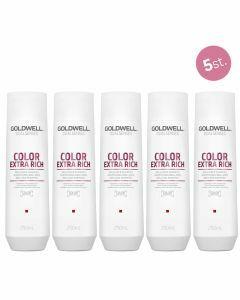 5x Goldwell Dualsenses Color Extra Rich Brilliance Shampoo 250ml