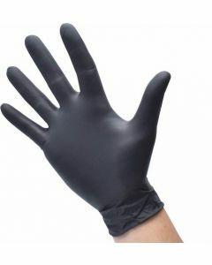 Nitril-Handschoenen poedervrij Maat M Zwart 100st