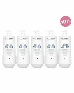 10x Goldwell Dualsenses Ultra Volume Bodifying Shampoo 1000ml