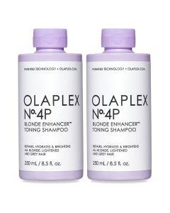 2x No.4P Blonde Enhancer Toning Shampoo