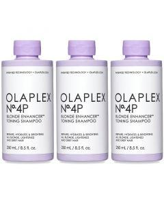 3x No.4P Blonde Enhancer Toning Shampoo