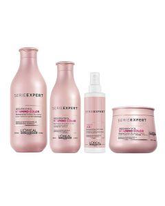 L'Oréal Serie Expert Vitamino Color gekleurd haar pakket