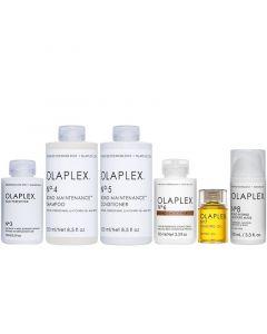 Beschädigte ihr Paket Olaplex No.3 + 4 + 5 + 6 + 7 + 8