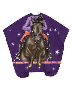 Trend-Design Schneideumhang Kinder Jockey hooks  130x125cm