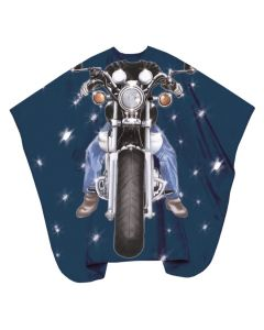 Trend-Design Schneideumhang Kinder Easy Rider hooks  130x125cm