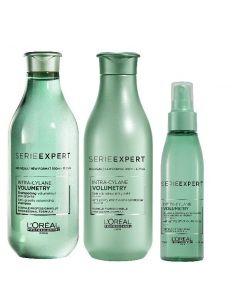 L'Oréal Serie Expert Volumetry futloos haar pakket